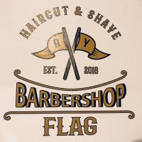BARBERSHOP FLAG